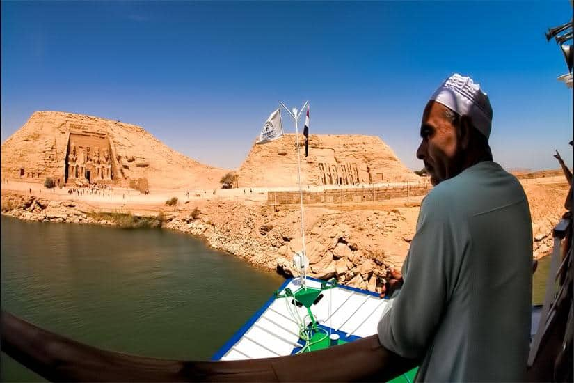 Egypte – ms Nubian Sea Abu Simbel